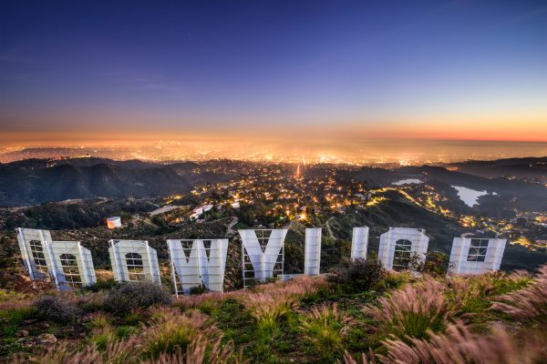 LAX 8 Hollywood sign