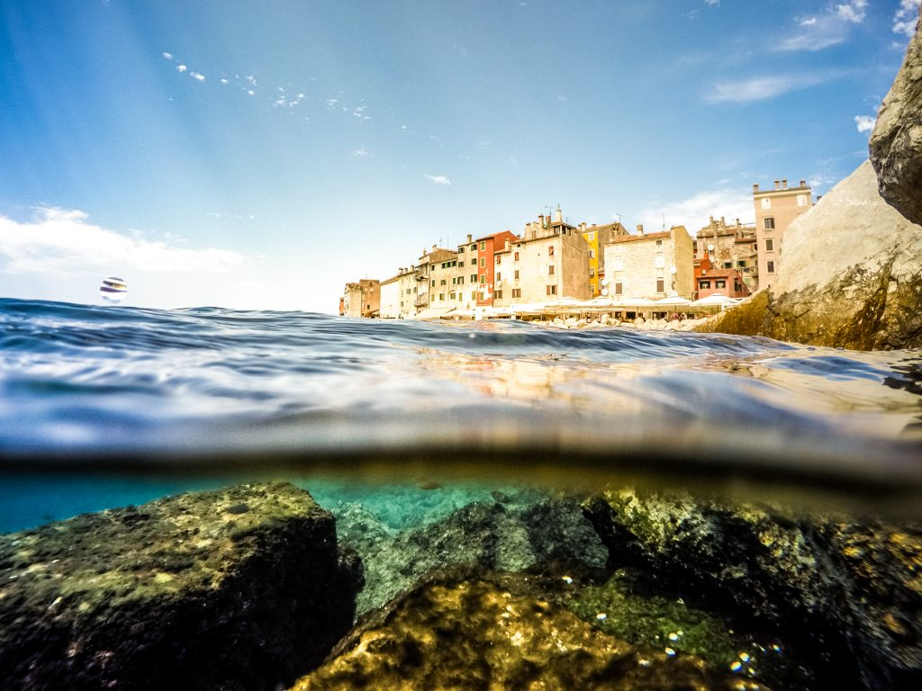 クロアチア Rovinj as beautiful summer destination shutterstock_322600646